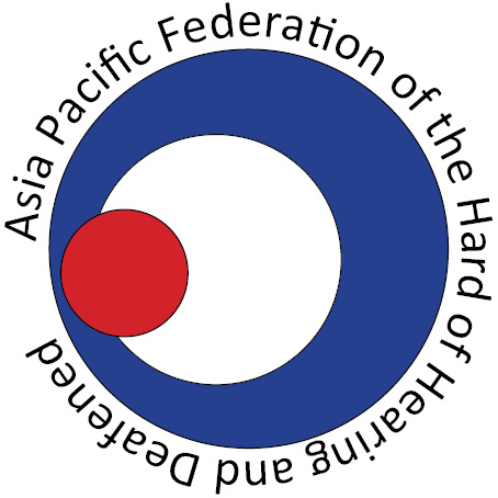 The Asia-Pacific Federation of the Hard of Hearing and Deafened (APFHD)